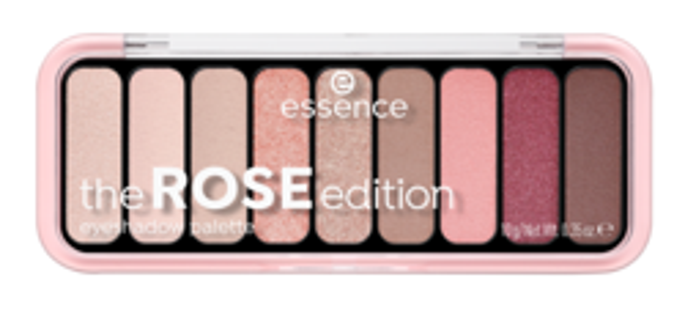 Essence The ROSE Edition Paleta Cieni 10g