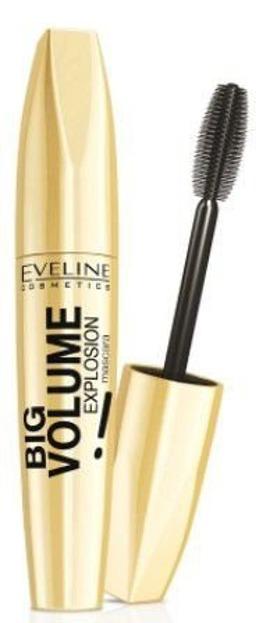 Eveline Big Volume Explosion Mascara Black- Tusz do rzęs, czarny