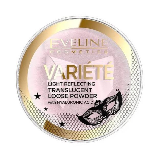 Eveline Cosmetics Variete Sypki puder odbijający światło 6g