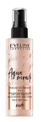 Eveline Glow and GO Aqua Miracle Mgiełka do twarzy 4w1 Nude 110ml