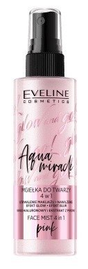 Eveline Glow and GO Aqua Miracle Mgiełka do twarzy 4w1 Pink 110ml