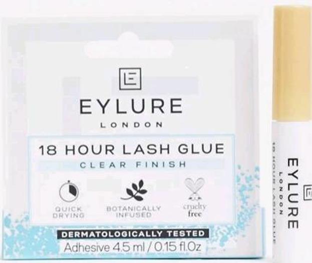 Eylure 18h lash glue Przezroczysty klej do rzęs bez lateksu 4,5ml