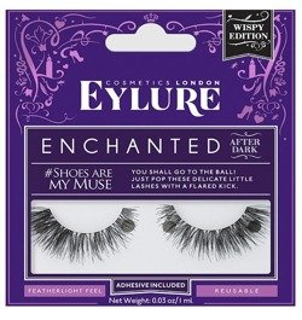 Eylure Enchanted Shoes are my muse Sztuczne rzęsy na pasku 1 para + klej 1ml