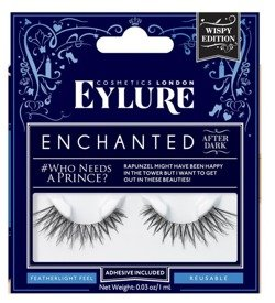 Eylure Enchanted Who needs a prince? Sztuczne rzęsy na pasku 1 para + klej 1ml
