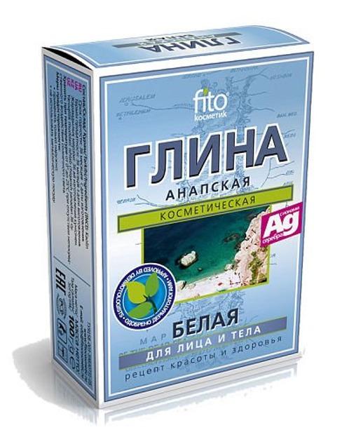 Fitokosmetik Anapska Glinka Biała, 2 x 50 g