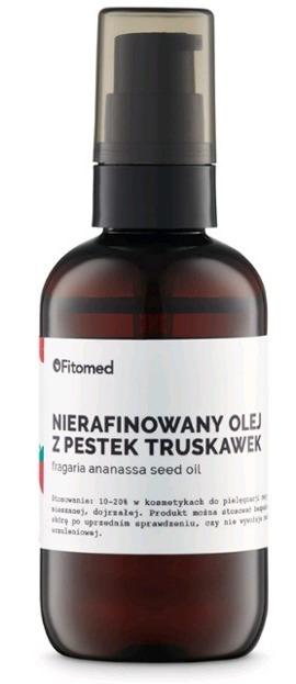 Fitomed Nierafowany olej z pestek truskawek 90g