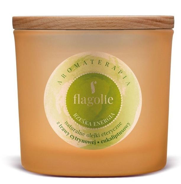 Flagolie by PAESE świeca sojowa do aromaterapii Rześka Energia 170g
