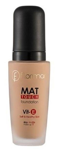 Flormar Mat Touch Foundation VitE Podkład matujący 301 Soft Beige