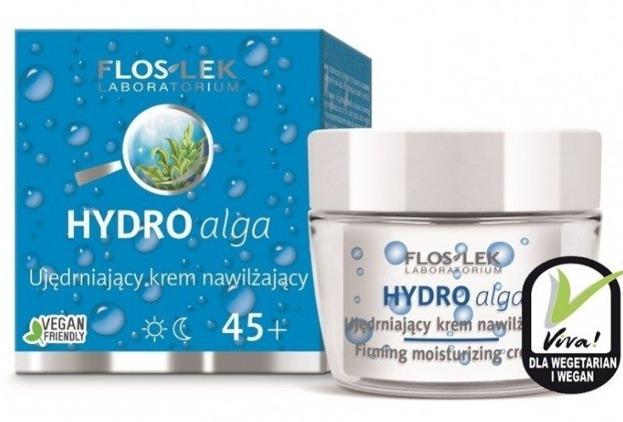 FlosLek Hydro Alga Ujędrniający krem nawilżający na dzień i na noc 45+ 50ml