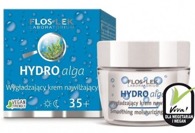 FlosLek Hydro Alga Wygładzający krem nawilżający na dzień i na noc 35+ 50ml