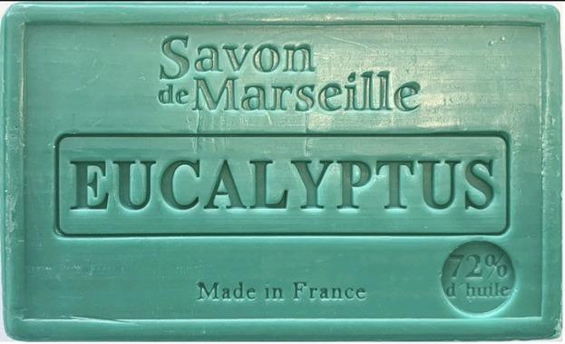 FouFour Mydło Marsylskie Eukaliptusowe 100g