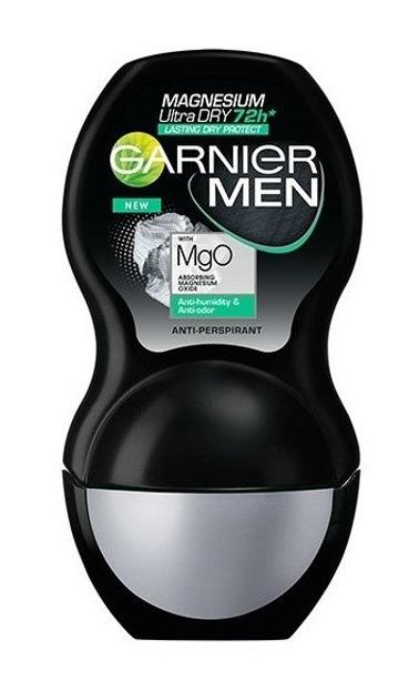 GARNIER MEN roll on MAGNESIUM ULTRA DRY Antyperspirant w kulce dla mężczyzn 50ml