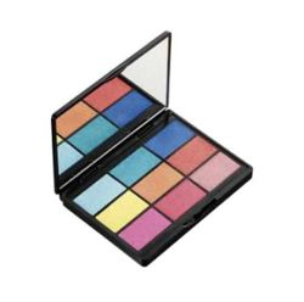 GOSH 9 Shades Shadow Collection - Paleta 9 cieni do powiek 003 To Play With In Vegas, 12g [KOSM001]