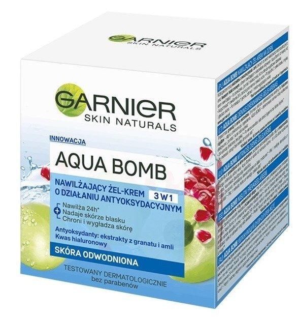 Ganier Aqua Bomb Nawilżający żel-krem do twarzy o działaniu antyoksydacyjnym 50ml