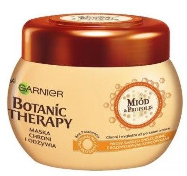 Garnier Botanic Therapy Maska do włosów bardzo zniszczonych Miód i Propolis 300ml
