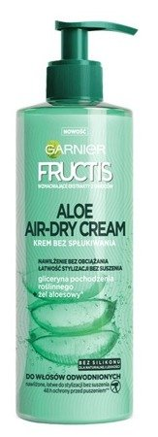 Garnier Fructis Aloes Airy-Dry Cream Krem do włosów bez spłukiwania 400ml