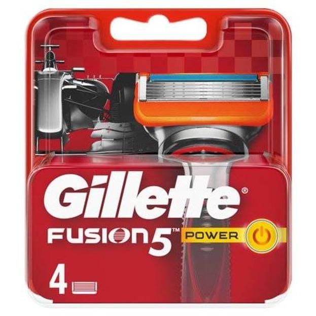 Gillette Fusion Power Wkłady do maszynek 4 sztuki