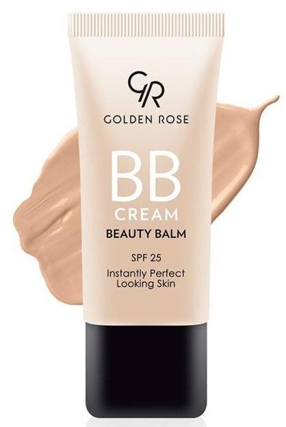 Golden Rose BB Cream SPF25 Lekki krem BB 04 Medium