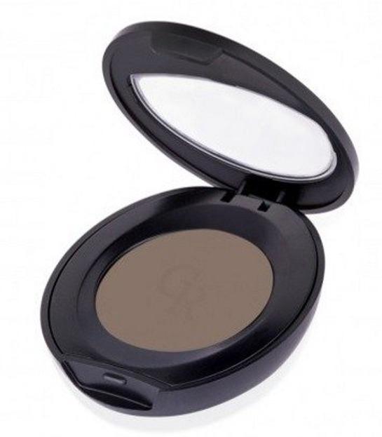Golden Rose Eyebrow Powder - Puder do brwi z witaminą E 102