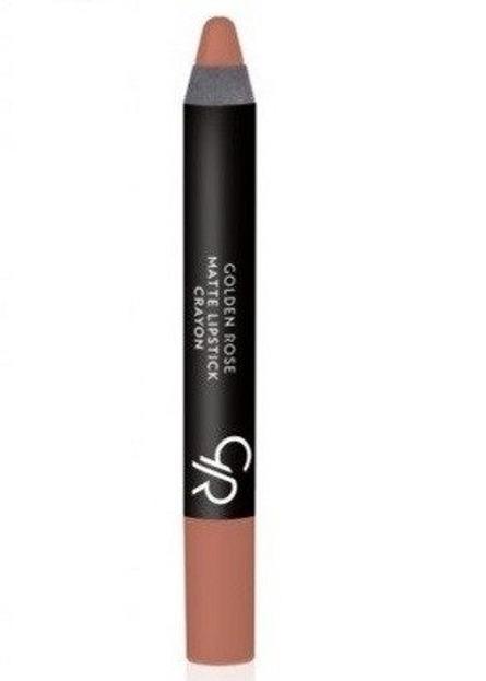 Golden Rose Matte Crayon Lipstick - Matowa pomadka do ust w kredce 14