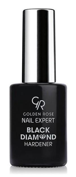Golden Rose Nail Expert Black Diamond Hardener - Odżywka wzmacniająca paznokcie 11ml