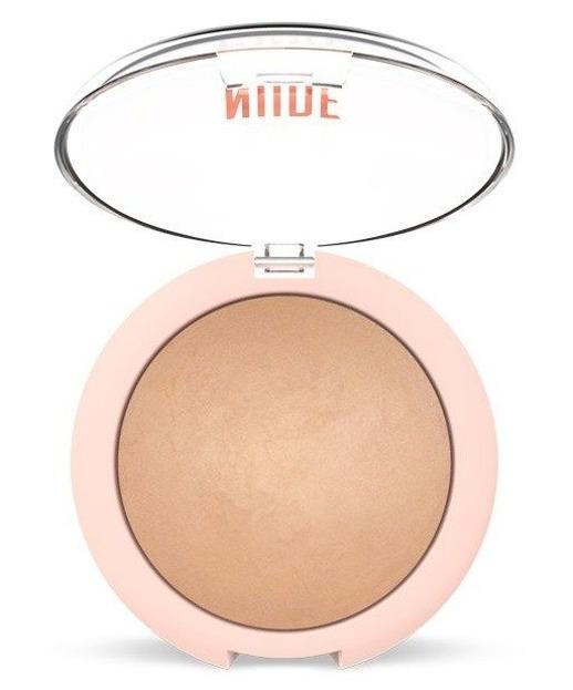 Golden Rose Nude Look Sheer Baked Powder Wypiekany puder do twarzy Nude Glow 9g