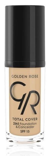Golden Rose Total Cover 2 in 1 Foundation & Concealer Kryjący podkład i korektor 2w1 11 Nude