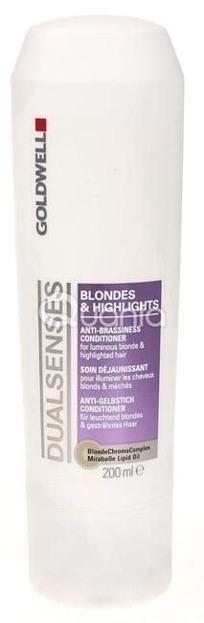 Goldwell Dualsenses Blondes & Highlights Conditioner - Odżywka do włosów blond, 200ml