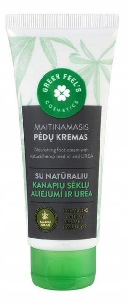 Green Feel's krem do stóp z olejem konopnym i mocznikiem 75ml
