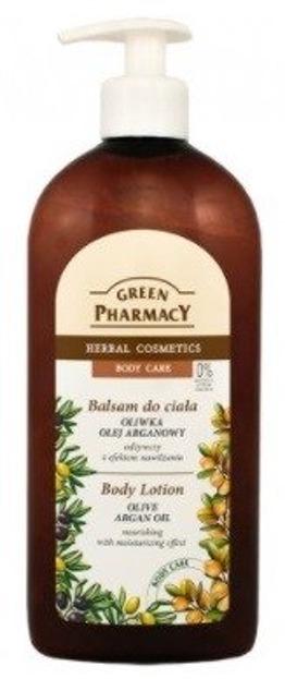 Green Pharmacy Balsam do ciała Oliwka i Olejek arganowy 500ml