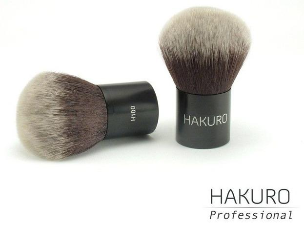 Hakuro H100 - Pędzel do pudru, KABUKI