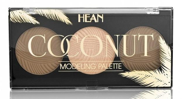Hean Coconut Palette Paleta modelująca do twarzy