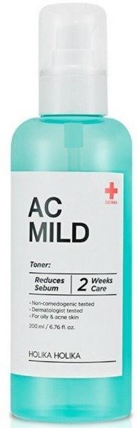 Holika Holika AC&MILD - Clear Toner Tonik oczyszczający 200ml