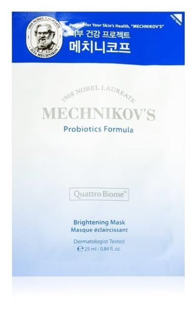 Holika Holika Mechnikov's Probiotic Formula Brightening Mask Sheet Rozświetlająca maska w płachcie 25ml