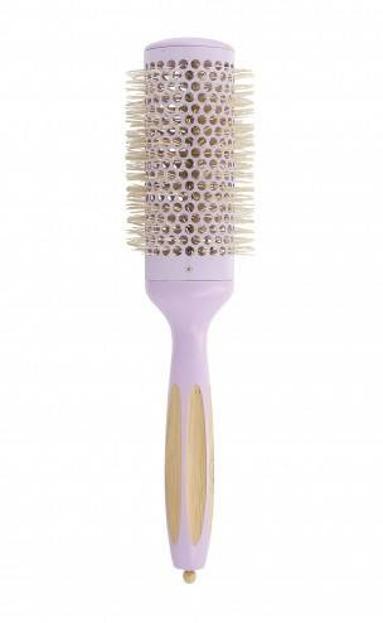 ILU Okrągła szczotka do modelowania włosów Bamboom Round 43mm WILD LAVENDER