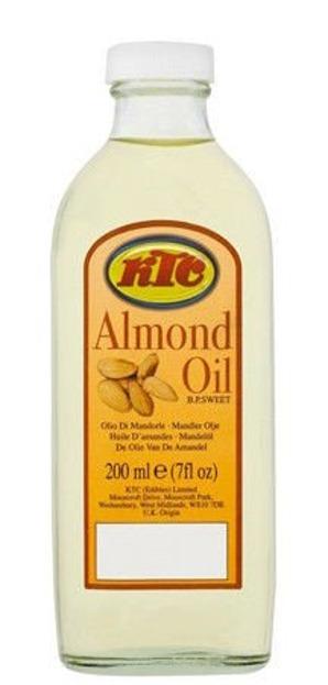 KTC Almond Oil Uniwersalny olejek migdałowy do pielęgnacji 200 ml
