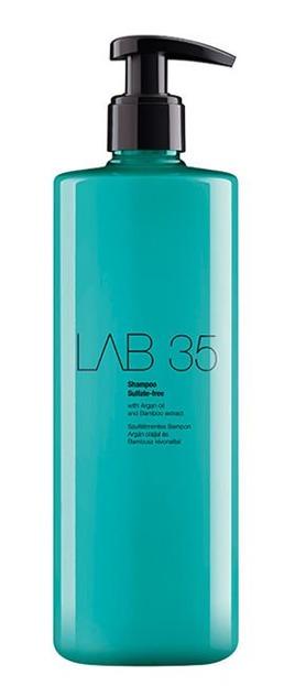 Kallos LAB35 Shampoo Sulfate-Free - Bez siarczanowy szampon do włosów farbowanych, 500 ml