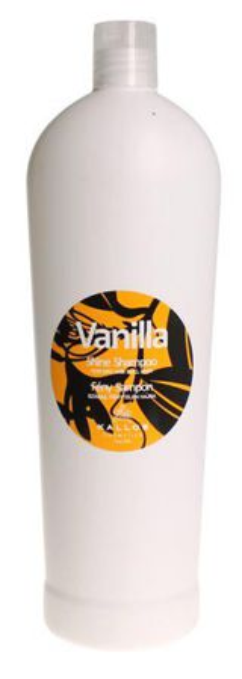 Kallos Vanilla Shine Shampoo - Szampon nabłyszczający do włosów, 1000 ml