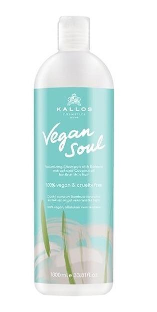 Kallos Vegan Soul Volumizing Dodający objętości szampon do włosów 1000ml