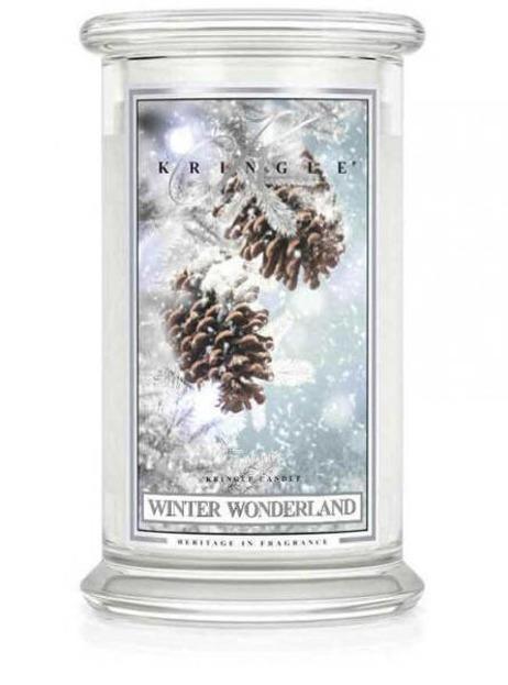 Kringle Candle duży słoik Winter Wonderland 624g