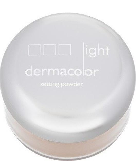 Kryolan Dermacolor Light Setting Powder Natural - Puder naturalny - utrwalający  N1 jasny, 20 g