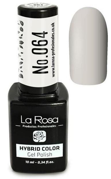 La Rosa Gel Polish Hybrid Color Lakier hybrydowy 064 10ml