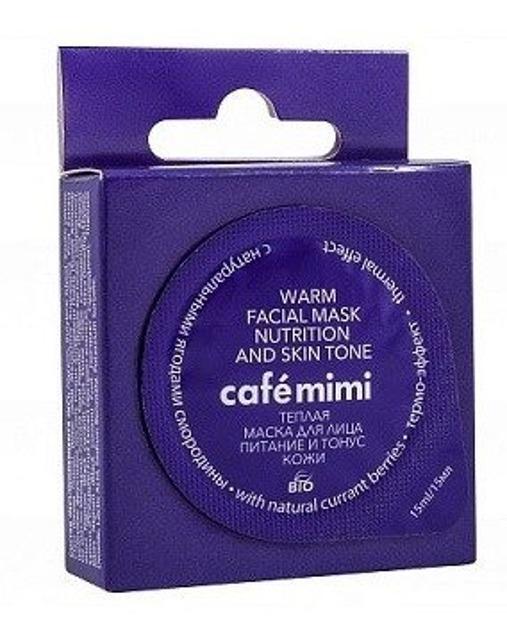 Le Cafe Mimi Maska odżywczo-tonizująca do twarzy 15ml