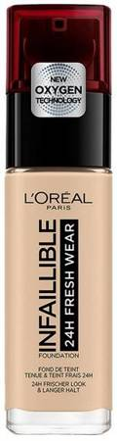Loreal Infallible 24h Fresh Wear Długotrwały podkład do twarzy 130 true beige