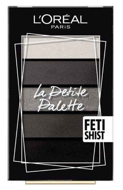 Loreal Mini Eyeshadow Palette Mini paleta 5 cieni do powiek 06 Fetishsit
