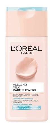 Loreal Rare Flower Mleczko do demakijażu 200ml