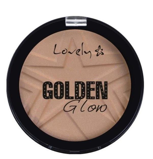 Lovely Golden Gloro Bronzer Puder brązujący do twarzy 4