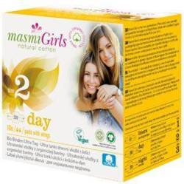 MASMIgirls podpaski na dzień dla nastolatek Size 2 10szt.