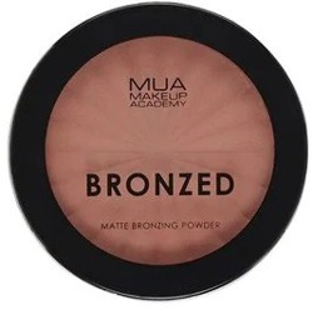 MUA Bronzing Powder Matte Matowy bronzer do twarzy SOLAR 120 11g