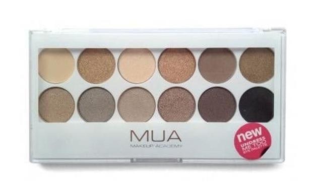 MUA Eyeshadow Palette - Paleta 12 cieni do powiek Undress Me Too